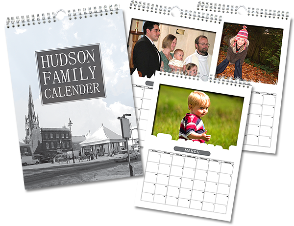 Calendar Design Services : Creation booth digital and litho print services