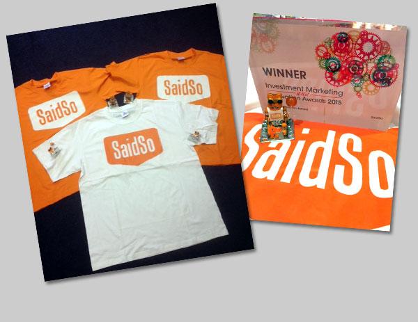 SaidSo Tshirts